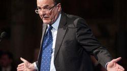 Bersani attacca Monti, su Finmeccanica dove intervenire