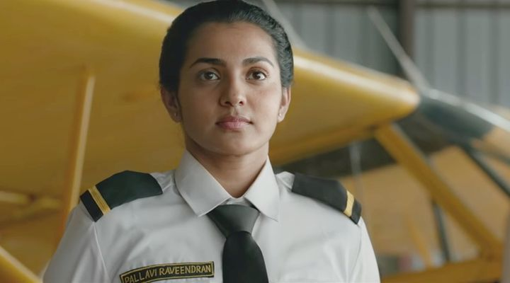 Parvathy in 'Uyare'