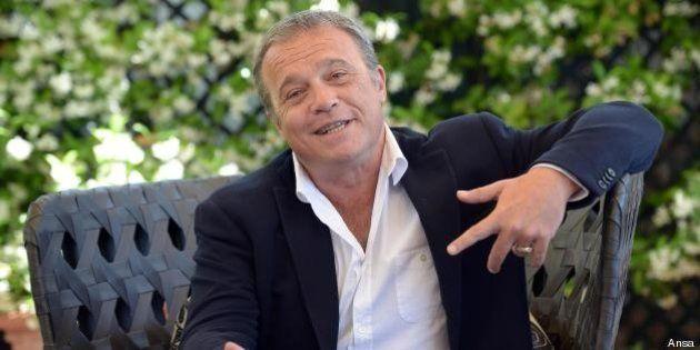 Intervista a Claudio Amendola su cinema, tv, Roma, Marino, Pd. Renzi? Giusto per il Pd che non è più...
