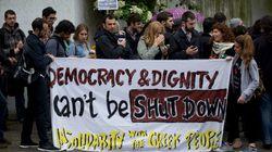 Sciopero generale in Grecia. Tutti in piazza contro la chiusura della tv