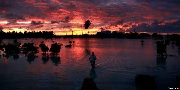 L'isola di Kiribati come Atlantide. L'atollo nel sud del Pacifico sarà sommersa dal mare tra 60 anni