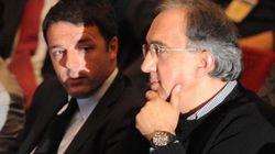 Pace tra Renzi e Marchionne, primo atto dell'assedio al