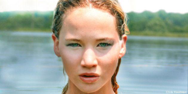 L'attrice Jennifer Lawrence, un passato da modella prima di vincere l'Oscar