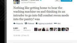 Pistorius e il tweet sospetto:
