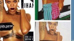 I residenti di Dublino contro il topless di Rihanna (FOTO,