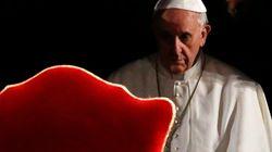 Papa Francesco alla prima Via Crucis: