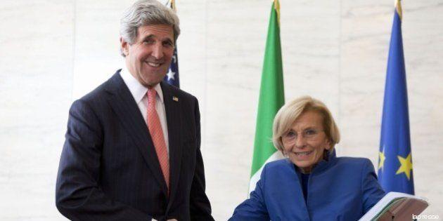 Siria: John Kerry ringrazia l'Italia per gli aiuti umanitari ai ribelli. 28 milioni di dollari stanziati...