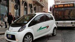 A Roma il car sharing funziona solo in pieno
