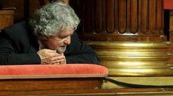 Grillo incontra i senatori