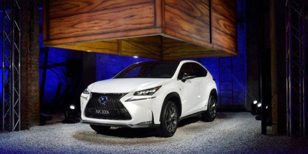 Lexus Nx 300 H: il nuovo suv presentato al Salone del Mobile di Milano