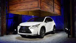 Il nuovo suv della Lexus presentato come se fosse a Masterchef