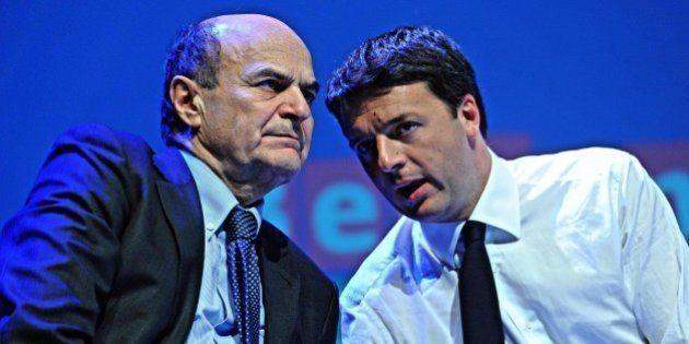 Pier Luigi Bersani chiede il ritiro del ddl Chiti ma non promuove Matteo Renzi e chiede modifiche