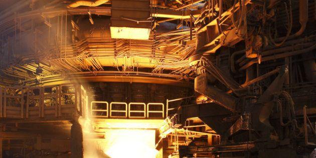 Ilva: dentro il gigante dell'acciaio. Le foto dentro lo