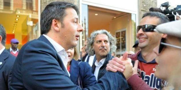 La prima di Matteo Renzi al Salone del Mobile, nel feudo che fu di Berlusconi: