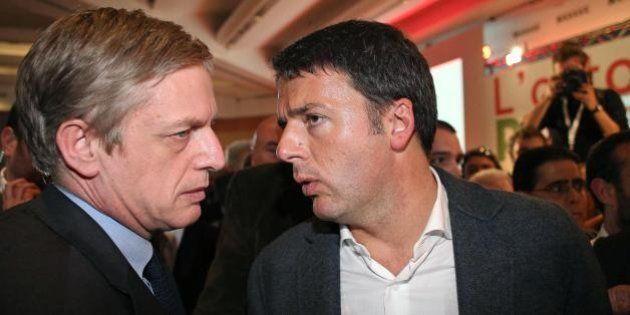 Matteo Renzi Gianni Cuperlo, da Torino a Roma rimbalza una domanda: chi è di destra?