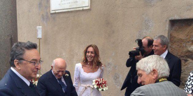 Nozze da Prima Repubblica: Paolo Cirino Pomicino si sposa in Campidoglio, Gianni De Michelis testimone