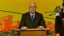 Crozza imita Napolitano e calcola quanti giorni mancano alla fine del mandato del Presidente della Repubblica