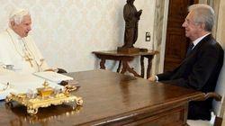 Incontro sobrio tra Monti e Benedetto XVI per evitare accuse di ingerenza dopo il caso Obama