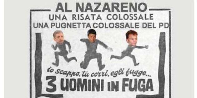 Blog Beppe Grillo contro Matteo Renzi: