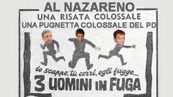 Il blog di Grillo contro Renzi