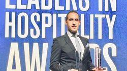 Le Tuniso-britannique Slim Zaiane remporte le prix du Manager de l'année au Leaders In Hospitality Awards 2019 aux