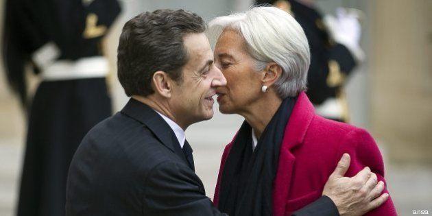 Christine Lagarde a Nicolas Sarkozy: