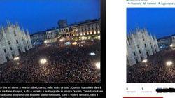 Bersani e la foto sbagliata di Milano