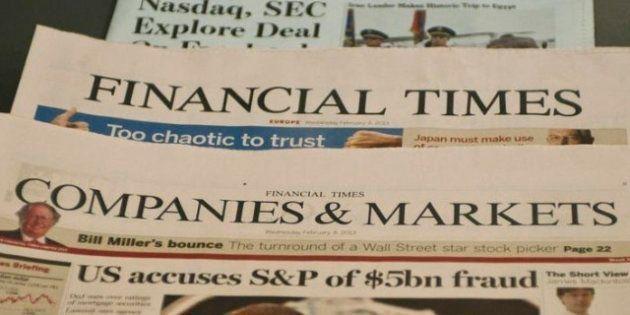 Elezioni 2013 il Financial Times torna ad attaccare Mario Monti: