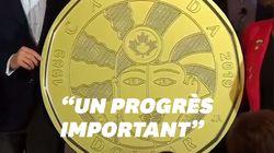 Le Canada crée une pièce de 1 dollar en hommage à la communauté