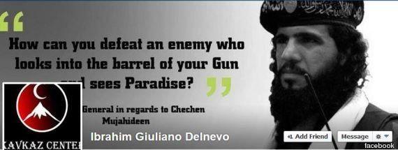 Giuliano Ibrahim Delnevo: l'amico Umberto Marcozzi: