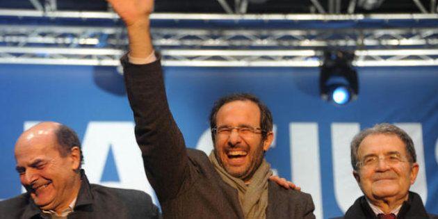 Elezioni 2013. Il Pd e Prodi sperano nell'effetto rimbalzo di Grillo: danneggia la destra, relega Monti...