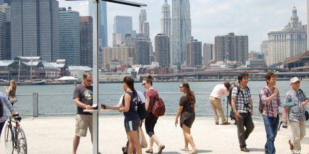 A New York il caricabatteria solare
