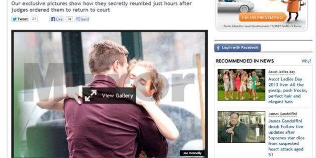 Amanda Knox e Raffaele Sollecito insieme a New York. Le foto del Daily Mirror