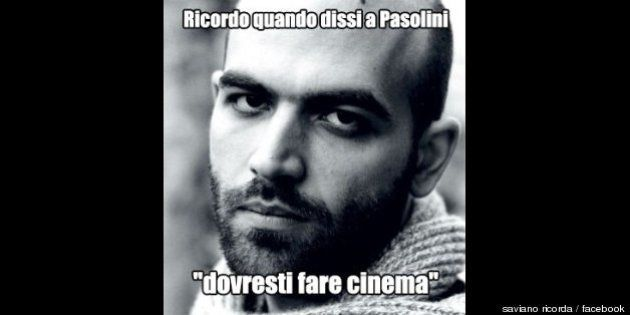 Roberto Saviano ricorda: il meme sullo scrittore minacciato dalla camorra