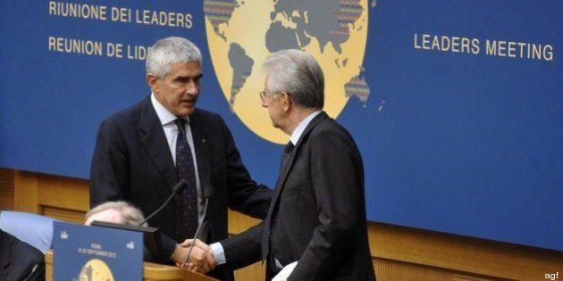 Pier Ferdinando Casini verso il divorzio da Mario Monti, torna