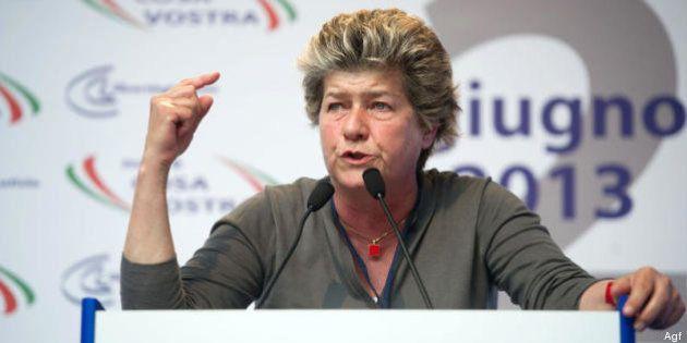 Susanna Camusso contro Enrico Letta: