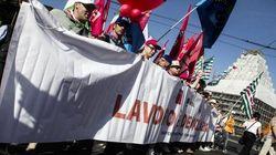 I sindacati tornano uniti. A Roma Cgil, Cisl e Uil scendono in piazza per il lavoro
