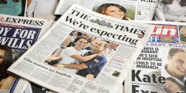 Kate Middleton e il Royal Baby: Londra in grande attesa per la nascita. Sarà maschio o femmina?
