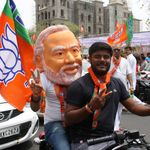 What's Behind The Modi Masks That Are Everywhere This Election