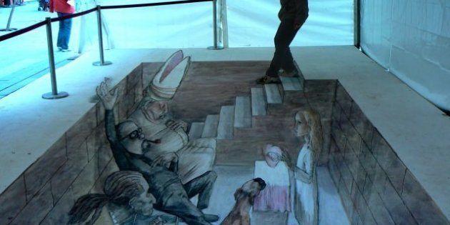 Street art, i murales in 3d di Eduardo Relero (FOTO,