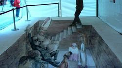 Il murales? È in 3D (FOTO,