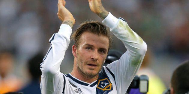 Good Bye America, David Beckham se ne va
