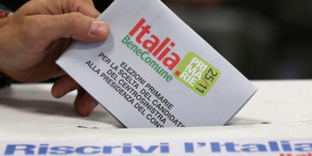 Primarie Pd 2012: vince Pier Luigi Bersani, perde Matteo