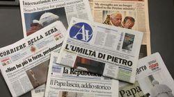 Crisi senza fine dei giornali, e la pubblicità cala