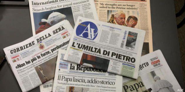 Editoria, nel primo trimestre peggiorano i conti di Corriere, Sole, Mediaset. Male la raccolta
