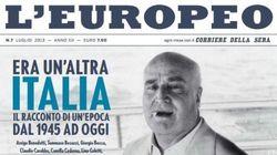 L'Europeo chiude. L'ultimo numero in edicola