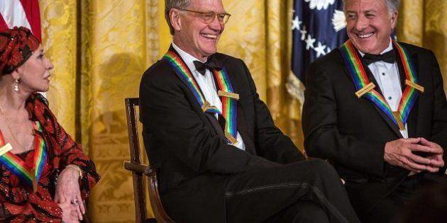 Kennedy Center Honors: David Letterman, i Led Zeppelin e Dustin Hoffmann premiati da Barack Obama (FOTO,
