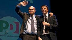 Dopo Firenze e Torino, la terza volta di Bersani e Renzi insieme in campagna elettorale: a Palermo, unione per scongiurare il...