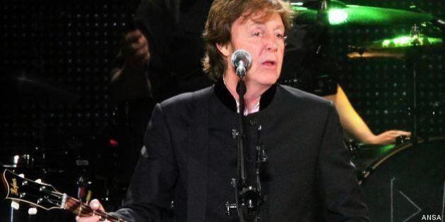 Sir Paul McCartney incanta l'Arena di Verona, standing
