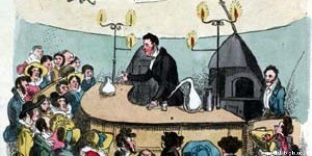 Yellow Kid non è stato il primo fumetto. Su Glasgow Looking Glass il padre delle strisce. Era del 1825